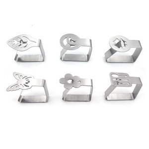 Stainless Steel Table Cloth Clip Tablecloth Stable Clips Wedding Party Picnic Promenade Table Cover Holder JK2007KD