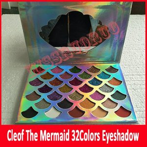 Fish Scales CLEOF glitter Eyeshadow Palette 32 Glitter Colors Shimmer Eye Shadow DHL Free