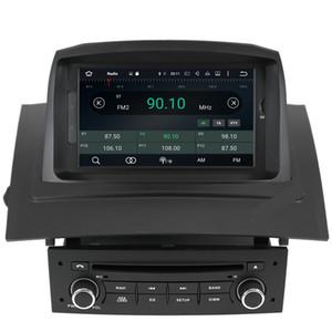 Freeshipping 2 Din Car Radio Auto Android 10 для Renault Megane 2 Fluence 2002 - 2008 мультимедиа плеер GPS навигация DSP Авторадио