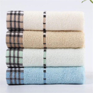 Classic Stripe Pattern Face Towels Trendy Soft Touch Men Women Cotton Towel Outdoor Portable Couple Sport Towels
