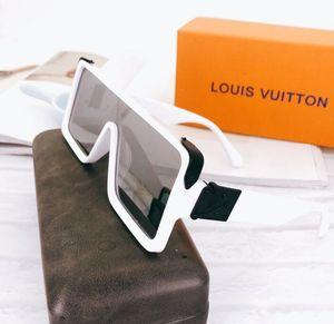 Brand design 2020 Hot sale half frame sunglasses women men Club Master Sun glasses outdoors dsses Square Plated Metal Combination Frame