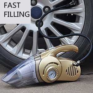 Automobiles & Motorcycles 4 in 1 Multi Function Vacuum Cleaner with Digital Display Portable Car Dual Use Car Auto Inflatable
