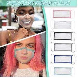 Gesichtsmaske Erwachsene und Kinder mit sichtbarem Ausdruck Clear Window-Maske für Taub schwerhörig
