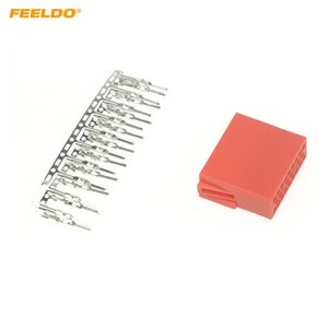 FEELDO Auto Car Audio CD player Connector 20pcs Terminal Pins Socket for Volkswagen Audi Skoda CD DVD DIY Plug Changer #1765