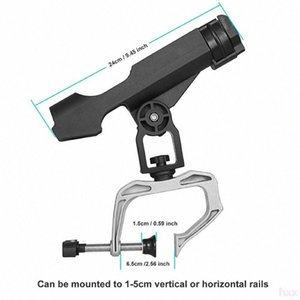 Nuovo Fishing Boat Rod Rod Reel Combo Fishings Holder rotazione di 360 gradi regolabile Power Lock pesca Holder Rod rack pieghevole con La G0nx #