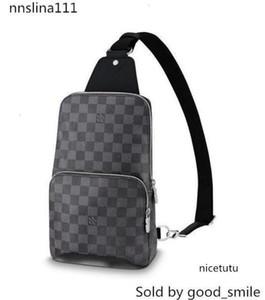 AVENIDA LA HONDA N41719 hombres bolsos del mensajero de la correa de hombro bolso de totalizadores de la cartera carteras del equipaje de la lona