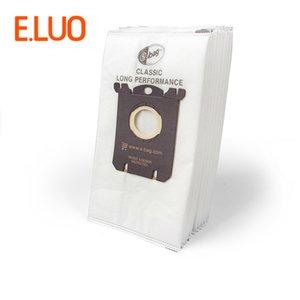 FC8202 저렴한 부품 10 개 S-BAG 흰색 부직포 진공 백 필터 먼지 봉투 청소기 부품