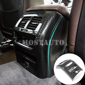 For BMW X3 G01 X4 G02 Carbon Fiber Style Rear Air Vent Outlet Cover 2018-2020 1pcs