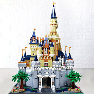 71040 개 16008 개 어린이 교육 장난감 벽돌 선물과 호환 13,132 8388PCS 확대 버전 성 모델 빌딩 블록 벽돌