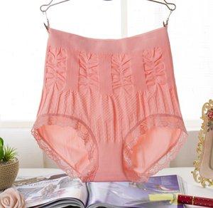 3pcs / lot Ultra-Thin cintura alta Beauty Care barriga de controle do corpo Shaping abdômen emagrecimento underwear sem emenda Calcinhas tamanho grande