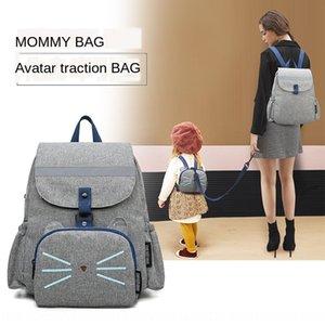 Mode maman de traction anti-perte Voyage à dos parent mommy multi-fonctionnelle attente pour la grossesse sac Voyage sac à dos