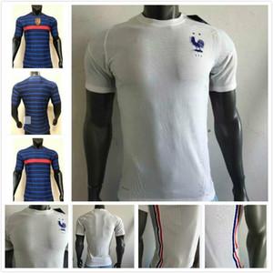 Player versione France maglia Mbappe Griezmann Pogba 2020 2021 ° anniversario della Jersey di calcio di calcio usura di addestramento della camicia kit maillot de foot