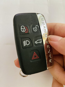 Jaguar and range rover 5 button remote key blank