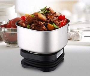 Wholesale-Travel Cooker Hot Plate 110V-220V Electric Portable Thermal Cooker Mini Rice Cooker DNn0#