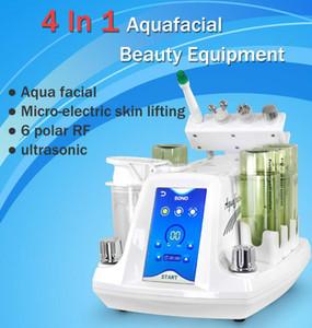 4 Em 1 Micro Cristal Dermabrasion cristal Peel Microdermoabrasão diamante Peel Microdermoabrasão pele Rejunvenation máquina para Salon Spa Uso