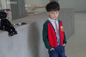2020 Nouveaux Automne Bébés garçons filles Cardigans enfants pantalons manteau tricoté vêtements pour enfants