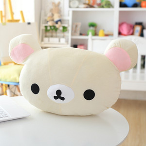 Rilakkuma Brown bear Plush doll pillow soft stuffed toys sofa Cushion houseware gifts birthday present MX200716