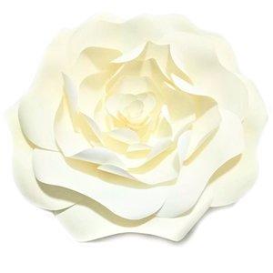 DIY Yapay Dev Kağıt Çiçekler için Düğün Arka planında Parti Dekorasyon Doğdun Tablo Tatlı El Sanatları Çiçek Duvar Dekor