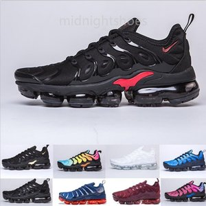 New Arrivals chaussure TN Plus running Shoes tn Men Outdoor Run Shoes Black White Trainers Hiking Sports Athletic Sneakers EUR40-45 YG99F