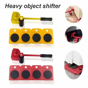 Easy Furniture Lifter Mover Tool Set Heavy Stuffs Moving Hand Tools Set Wheel Bar Mover Device Furniture Transport Tool NmYf#