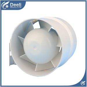buen trabajo nuevo para el ventilador catéter fan fan ronda mute baño de escape 4 pulgadas 100 / 110mm