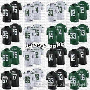 LeVeon Bell jersey New YorkJetsnfc Men 12 Joe Namath 33 Jamal Adams Jerseys 57 C.J. Mosley 95 Quinnen Williams 2019