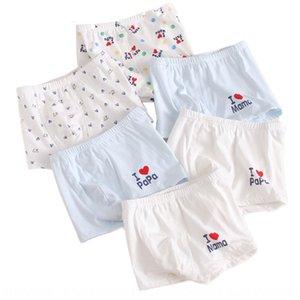 I love dad and mom Autumn new pure cotton children's moldy underwear children's underwear men