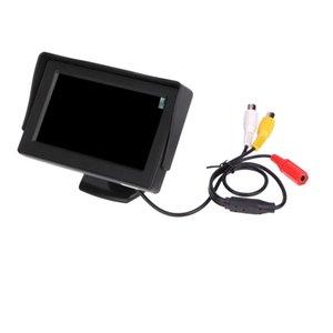 """4.3\"""" HD Car LCD Display For Rear View Camera Monitor Night Vision"""