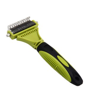 2020 Non-slip Dog Comb Stainless Steel For Hair Removal Strong ABS Large Dog Use Loose Knot Grooming Combs Pet Product Supplier