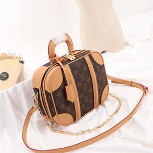 New Arrival Womens Bag Leather Crossbody Handbags Designer Luxury Zipper Top Handle Tote Chain Fashion Lady Shoulder Bags Sale Fast Delivery