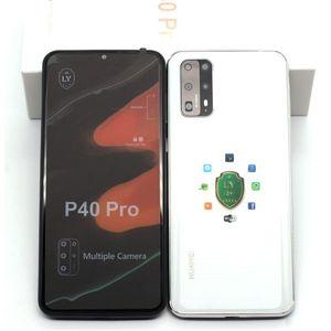 Goophone P40 Pro 6.5inch Android 9.0 falso 4G LTE 8MP câmera GPS Wifi impressão digital