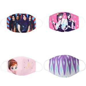 Tissu Cubreboca Costumes pour enfants Masque Masque Coton Visage Bouche Masques Cartoon Enfants Jeunes pour Kid Bomull Cubrebocas QGxLV tophw