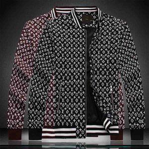 2020 men's clothing designer men's windbreaker jacket women autumn and winter zipper fashion floral design jacket