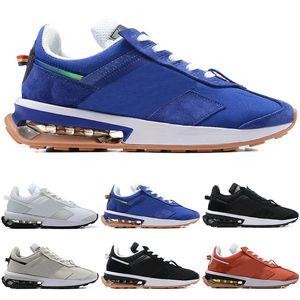 Nike Air Max 270 Мужчины Женщины кроссовки мужские кроссовки тренеров Pre день Черный Белый Синий Красный Серый спортивный тренер Спорт тапки Размер 36-45