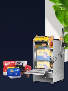 cuadro de 220V máquina de sellado sealig película de plástico bandejas sellador máquina taza máquina de sellado automático de vasos sellador