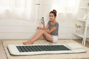 핫 전기 옥 침대 가열 마사지 매트리스 전기석 돌 소파 패드는 매트 건강 가젯을 가열 적외선