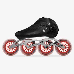6061 프레임 Elemenal 바퀴 스케이트 Patines 100 % 원래 본트 속도 인라인 스케이트 Heatmoldable 탄소 섬유 인라인 보스 부트