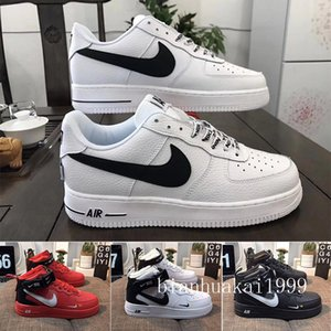 New Arrival One 1 Dunk Running Shoes all Black White Men Women Sports Skateboarding Ones High Low Cut Wheat Brown Trainers Sneakers DZCC5