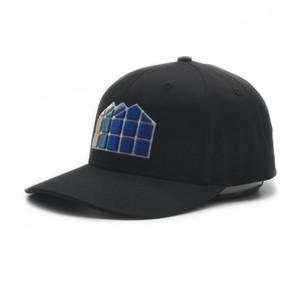 2021 힙합 공 모자 클래식 casquette 맞춤형 검은 구조화 자수 야구 장착 캡 6 패널 스포츠 골프 모자 남성과 여성