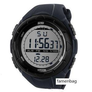 SKMEI Casual Watch Men Women Dual Time Sports Chronograph 3bar Waterproof Quartz Wristwatches relogio masculino Montre Femme 1220