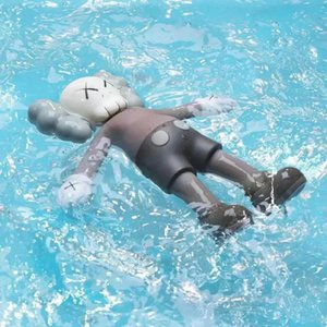 Kaws holiday is a children's toy limited to floating water in South Korea's summer swimming pool