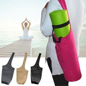 Toile Tapis de yoga Sac ergonomique Carry Multifonctionnel Durable Sacs Sac de sport WHShopping