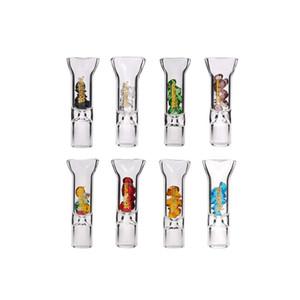 Vetro Diamante bocchino filtro di vetro Holder Consigli comune Bocchino Consigli 8 millimetri Blunt per Fumatori all'ingrosso Honeypuff
