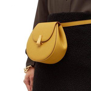 luxury handbags women bags designer New Saddle Bag Small Cross-body Pack Female Leather Shoulder Bags Belt bolso mujer
