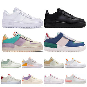 nike air force 1 shoes af1 uomo donna scarpe da corsa 1 tipo ombra Para-noise nero Summit White Mystic Navy Pale air Ivory uomo trainer sneaker sportive moda