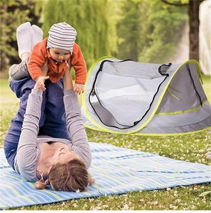 Processing Custom Childrens Tent Crossborder New Exposure Hiking And Camping Camping & Hiking UV50 Baby Beach Mosquito Net Baby Moving MDLx#