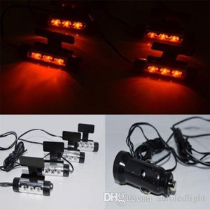 auto led interior light 4 Pcs Blue LED light Car Charging Footwell surface decoration Lamp For Benz