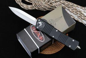 Combate dragón satinado D / E acampar doube borde D2 caza foldingknife colletion hoja fija el regalo del cuchillo de bolsillo de Navidad