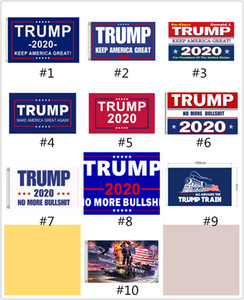 FEDEX Cheapest 90 * 150см Trump 2020 выборов Флаги Keep America Great флаг Double Side Printed Polyester декора Баннер для президента США