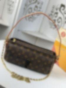top M 51164 Leather classic fashion handbag card bag zero wallet men's and women's backpacks single shoulder bag M51164